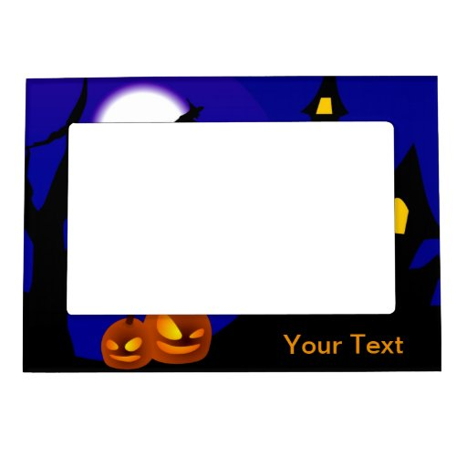 Halloween Magnetic Photo Frame