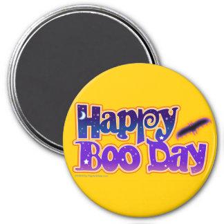 Halloween Magnets - Happy Boo Day Art