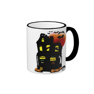 Halloween Mansion Mug