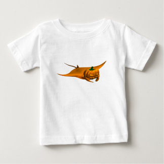 Halloween Manta Ray Baby T-Shirt