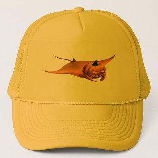 Halloween Manta Ray Trucker Hat