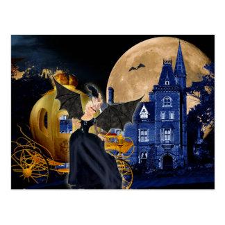 Halloween Marie Antoinette Sociere Diabolique Postcard