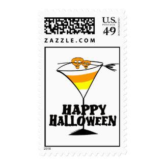 Halloween Martini Stamps