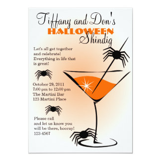 Halloween Martini Shindig! Card