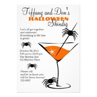 Halloween Martini Shindig! Custom Invitation