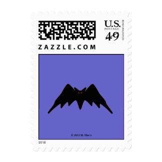 Halloween Martzkin Bat Postage © 2012 M. Martz