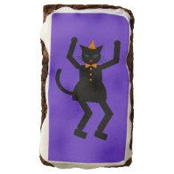 Halloween Martzkin Black Cat Girl Brownies Rectangular Brownie