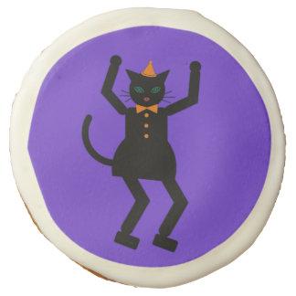 Halloween Martzkin Black Cat Girl Cookie Sugar Cookie