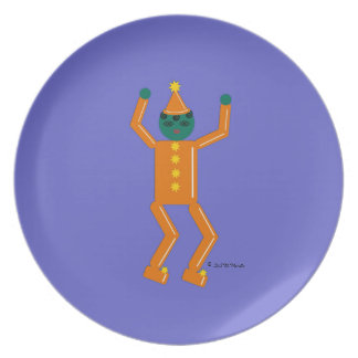 Halloween Martzkin Boy Goblin Treat Plate