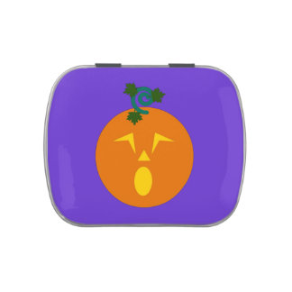 Halloween Martzkin Candy Containers Jelly Belly Tin