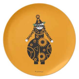 Halloween Martzkin Clown Plate