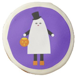 Halloween Martzkin Ghost Sugar Cookie