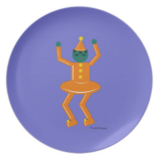 Halloween Martzkin Girl Goblin Treat Plate