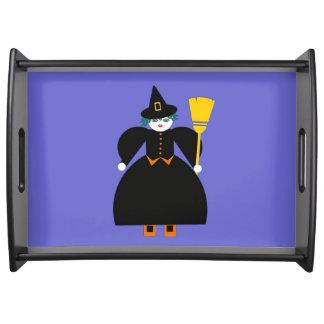 Halloween Martzkin Good Witch Serving Tray