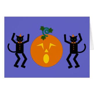 Halloween Martzkin Greeting Card © 2012 M. Martz