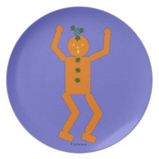 Halloween Martzkin Jack-O-Lantern Plate