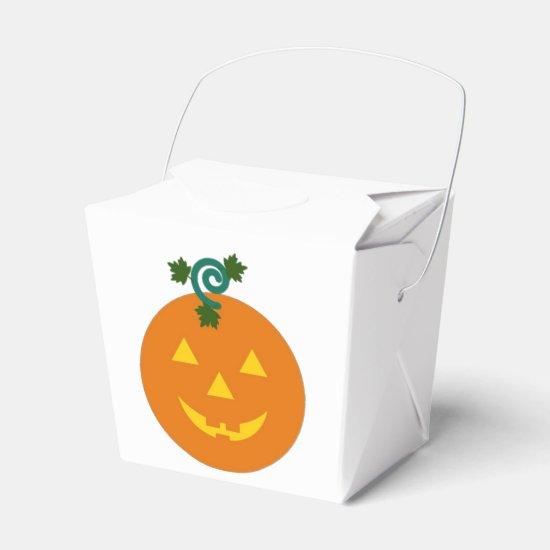 Halloween Martzkin Jack-O-Lantern Treat Box