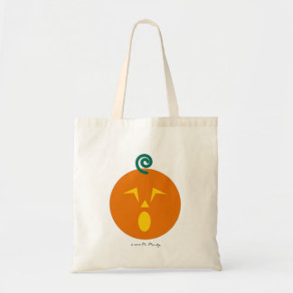 Halloween Martzkin Jack-O-Lantren Treat Tote Bag