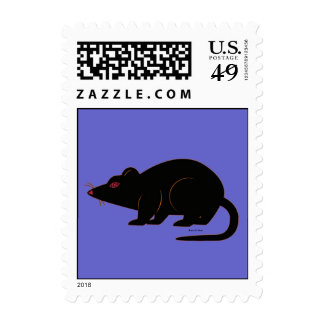 Halloween Martzkin Rat Postage © 2012 M. Martz