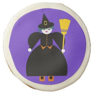 Halloween Martzkin Witch Sugar Cookie