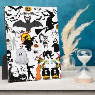 Halloween Mashup Display Plaques