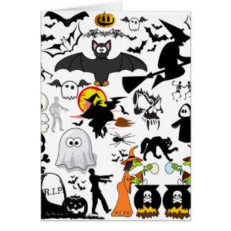 Halloween Mashup Felicitacion