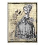 Halloween Masquerade Ball 5.5x7.5 Paper Invitation Card