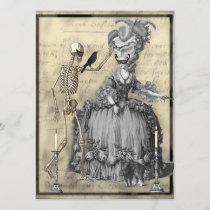 Halloween Masquerade Ball Invitation