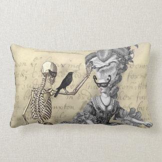 halloween masquerade ball lumbar pillow - Halloween Pillows
