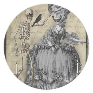 Halloween Masquerade Ball plate