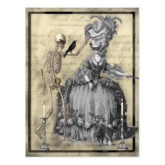 Halloween Masquerade Ball Postcard