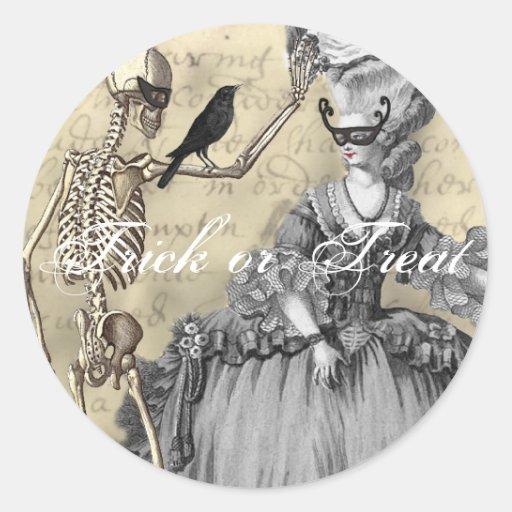 Halloween Masquerade Ball Sticker