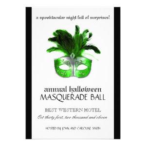 Halloween Masquerade Invitation