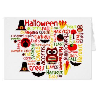 Halloween means ... card