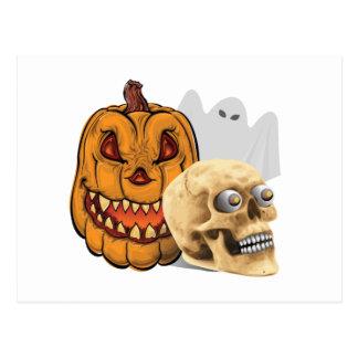 Halloween Medley Postcard