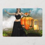 Halloween Medusa Invitation