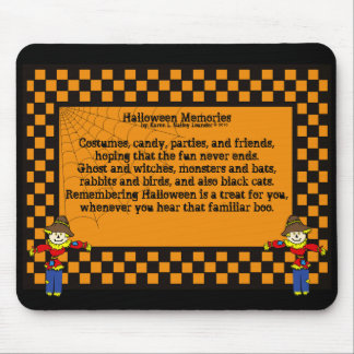 Halloween Memories Mouse Pad