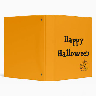 Halloween Memory Book Binder