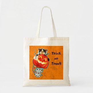 Halloween Mercat Canvas Bag