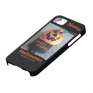 Halloween mi noche para rondar IPhone5 iPhone 5 Case-Mate Coberturas