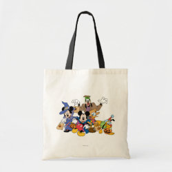 Budget Tote with Mickey & Friends Trick-or-Treat for Halloween design