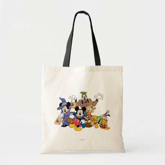 Halloween Mickey & Friends Tote Bag