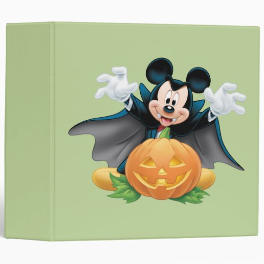 Halloween Mickey Mouse 1 Binder