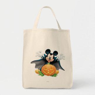 Halloween Mickey Mouse 1 Bolsa Tela Para La Compra