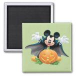 Halloween Mickey Mouse 1 Imán Cuadrado