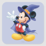 Halloween Mickey Mouse 2 Pegatina Cuadrada