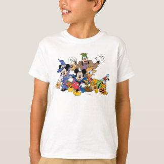 Halloween Mickey y amigos Playera