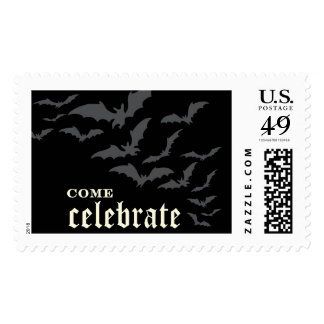 Halloween Midnight Bats | Atelier Isabey Stamps