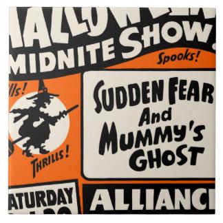 Halloween Midnite Show Tile
