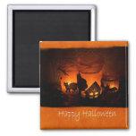 Halloween mira al trasluz 1 - feliz Halloween Imanes